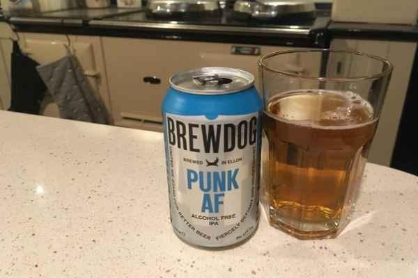 Brewdog punk af alcohol free ipa