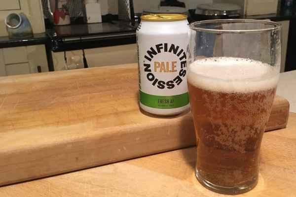 infinite session pale AF beer
