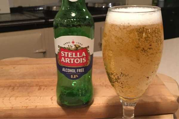 stella artois alcohol free